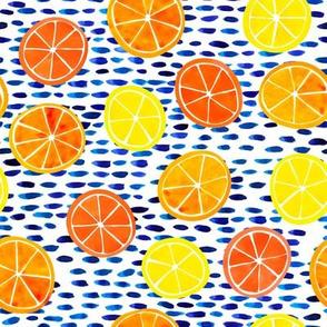 Citrus on Cobalt Dots