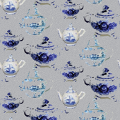 England English Tea for Two Drink Beverage Coffee_Miss Chiff Designs