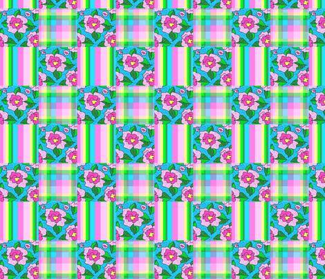 Peonies_patch_medium fabric by leroyj on Spoonflower - custom fabric
