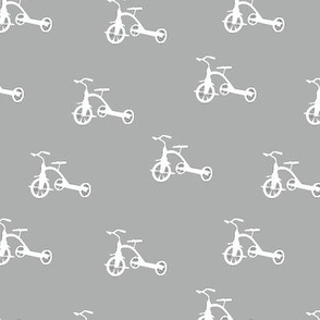 White_Tricycles_on_Gray