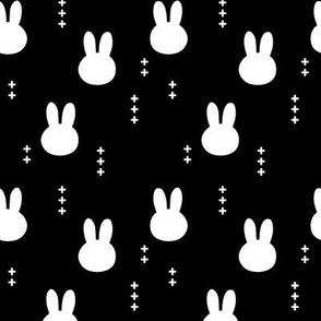 Bunny head (small scale) // black