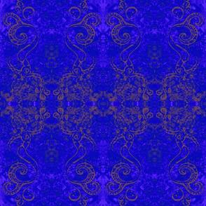 Mermaid Circus-blue/purple