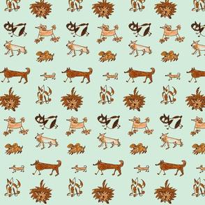 dogs-aqua