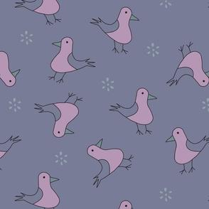 Cute bird pattern 1