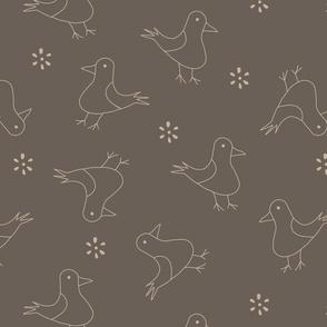 Cute bird pattern 2