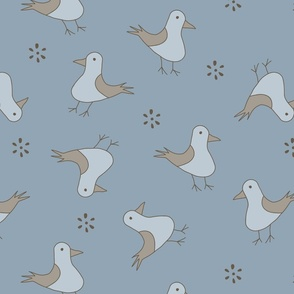 Cute bird pattern 3