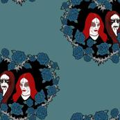 Black metal/Blue Roses