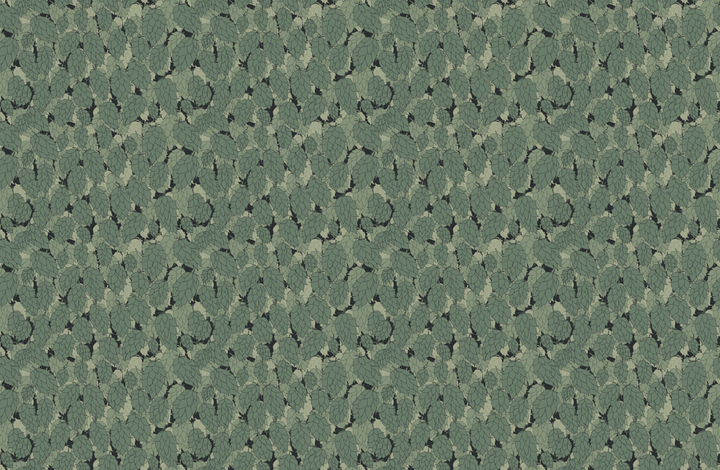 Hops in a Charcoal Poke fabric by a_bushel_of_hops on Spoonflower - custom fabric