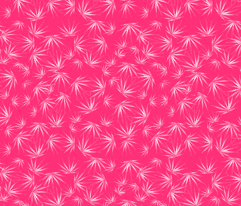 Hot Pink Sativa fabric by camomoto on Spoonflower - custom fabric