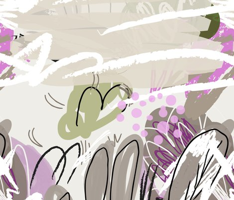 Abstract_sketched_garden_trees_gray_and_purple_shop_preview