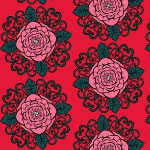 Rose Modern Coordinate