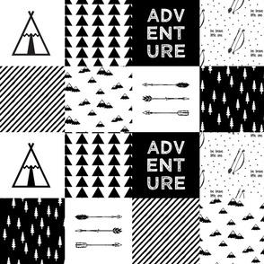 Adventure Patchwork // wholecloth