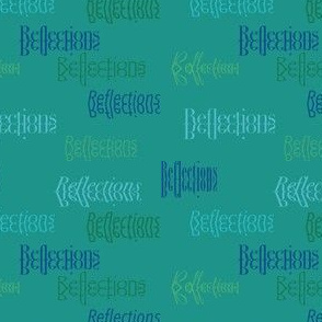 Reflections Typography