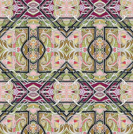 Join Me in a Gavotte fabric by edsel2084 on Spoonflower - custom fabric