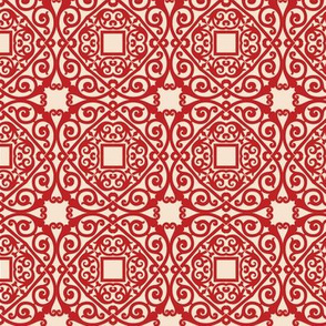 Chinese Gate Pattern