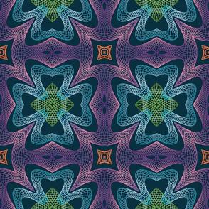 Guilloche Rosette Pattern