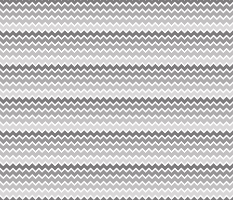 Grey Gray Ombre Chevron fabric by decamp_studios on Spoonflower - custom fabric