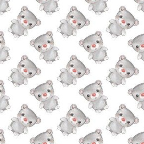Teddy bear pattern 1