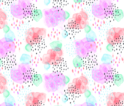 Miami Splash fabric by phirefly_print on Spoonflower - custom fabric