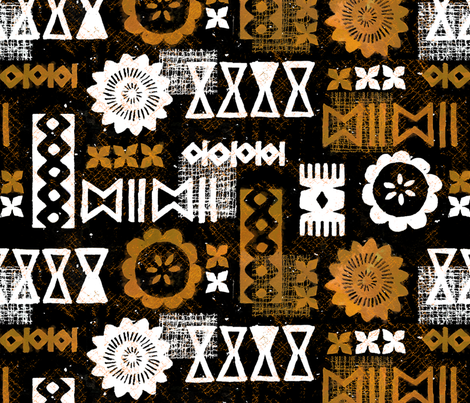 Modern Tapa 6c fabric by muhlenkott on Spoonflower - custom fabric