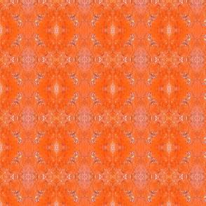 Tongariro Crossing Orange Rock
