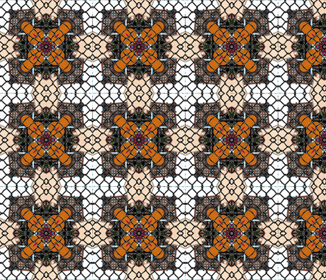 chainlinkview-ed fabric by glorybart on Spoonflower - custom fabric