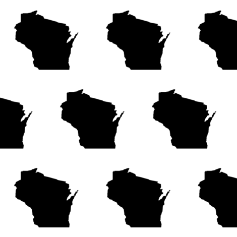 Wisconsin fabric by thinlinetextiles on Spoonflower - custom fabric