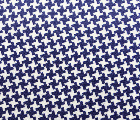 Houndstooth* (Jackie Blue) || geometric midcentury modern 60s 1960s sixties mod