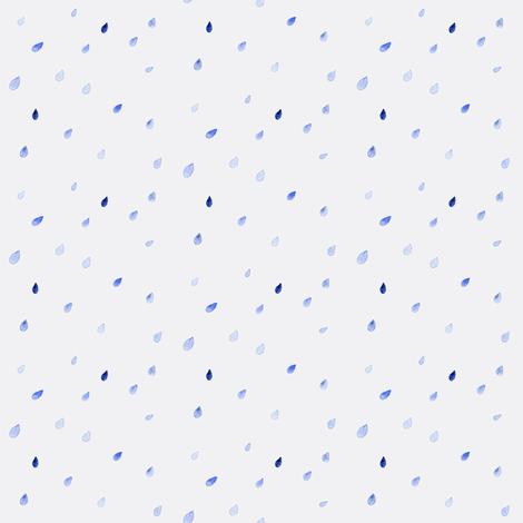 rain (grey sky) fabric by hiraeth on Spoonflower - custom fabric
