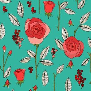 rose_study_aqua