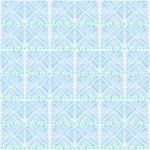 Blue diamonds