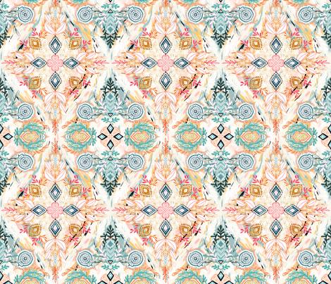 Wonderland in Spring - small print fabric by micklyn on Spoonflower - custom fabric