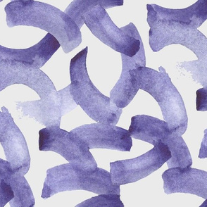 Abstract Watercolor Purple Arches