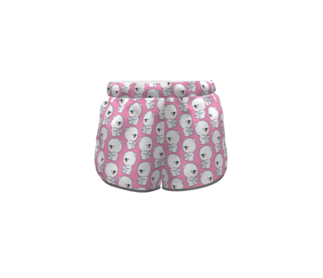 Mischievous Little Polar Bears Pink by Cheerful Madness!!