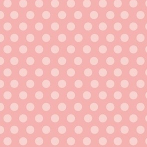 PinUp Polka Dots - Apple Blossom