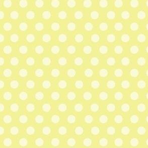 PinUp Polka Dots - Chartreuse