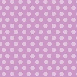 PinUp Polka Dots - Lilac
