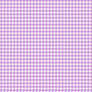 Houndstooth* (Lavender Disaster) || geometric midcentury modern 60s 1960s sixties mod pastel