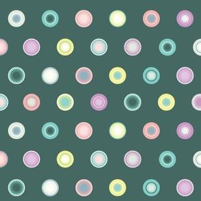 Fallout Polka Dots - Multicolor