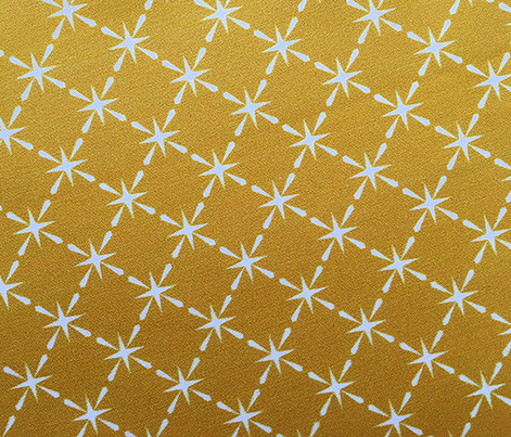 Lattice* (Gold Marilyn) || midcentury modern farm vintage retro kitchen chicken wire starburst summer