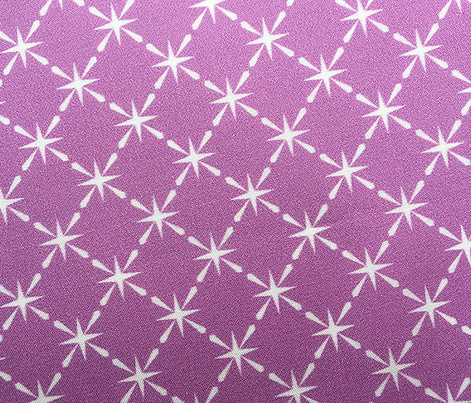 Lattice* (Lavender Disaster) || midcentury modern farm vintage retro kitchen chicken wire starburst pastel