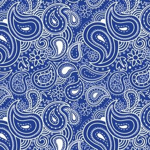 blue bandana wallpaper  bandana fabric, wallpaper