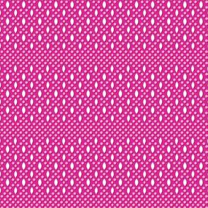 Vivianne* (Pink Riot) || beads beaded coin purse vintage souvenir polka dots diamonds geometric
