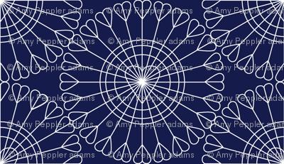 Open Your Heart* (Jackie Blue)    hearts Ferris wheel valentine valentines day love geometric mandala wire