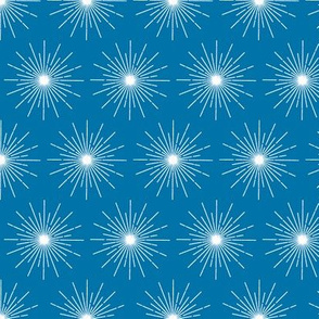 Pulsar* (Blue Liz) || galaxy outer space stars starburst cosmic atomic midcentury modern