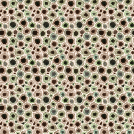 Petoskey Stone fabric by dakotah_black on Spoonflower - custom fabric