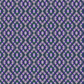 Violet-Emerald Diamond