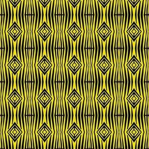 Native Tiger Stripes and Diamonds