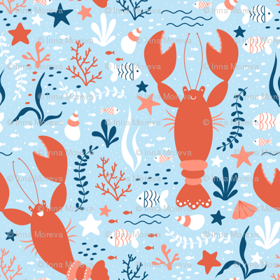 Cheerfull Lobsters