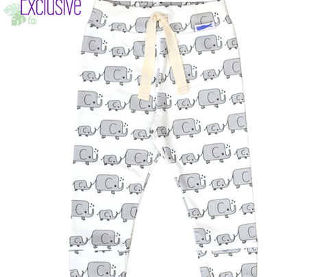 Elephants // pink grey baby mum animals savannah nursery kids design